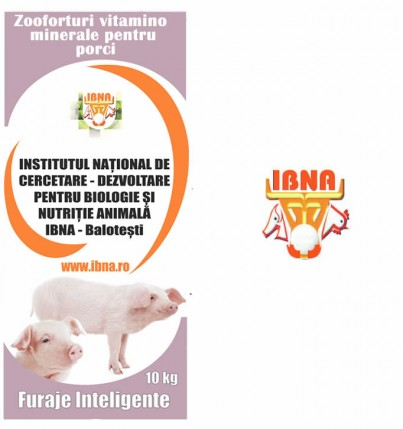 P3-4, Zooforturi vitamino-minerale pentru porci grasi de la 25-100 kg
